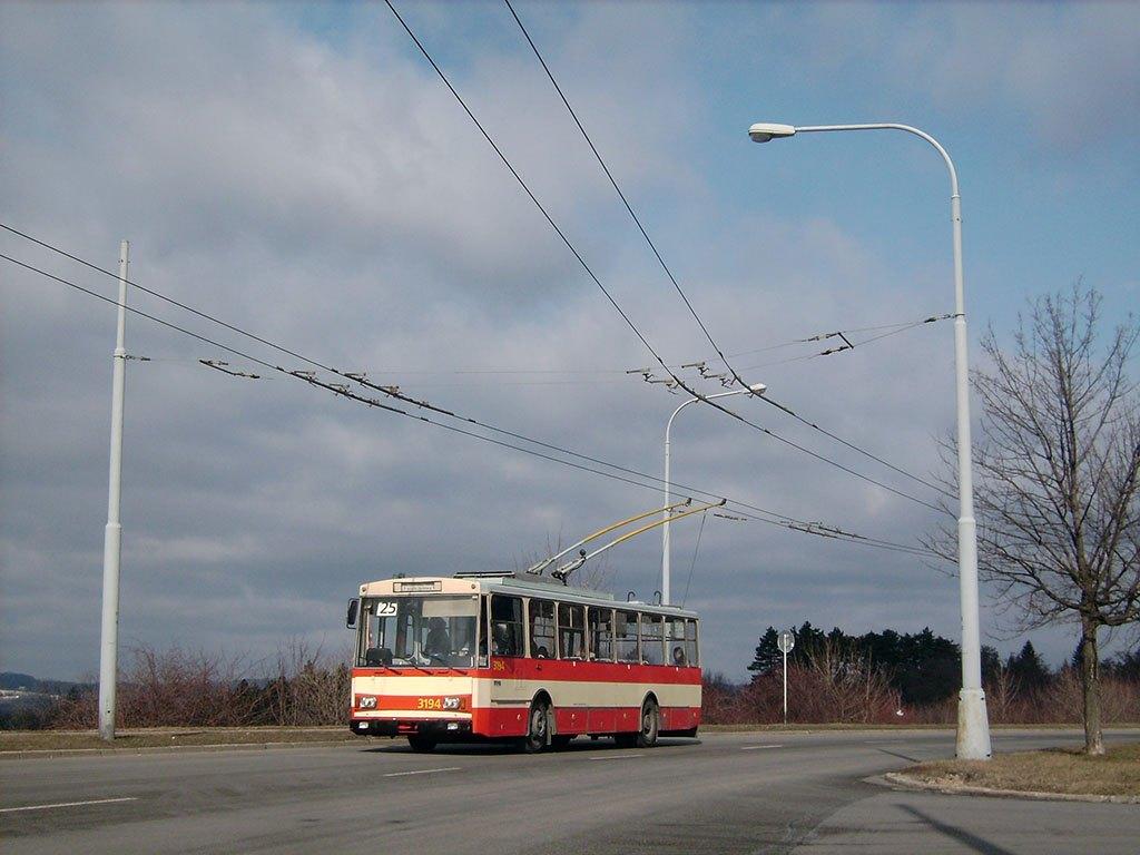 Fotogalerie » Škoda 14Tr07 3194 | Brno | Vinohrady | Věstonická