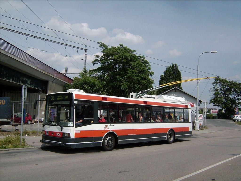 Fotogalerie » Škoda 21Tr 3026 | Brno | Židenice | Životského | Životského
