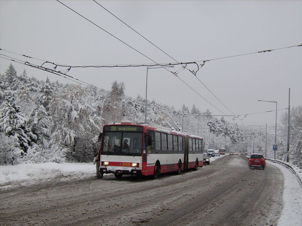 Fotogalerie » Škoda 15TrM 3508 | Brno | Židenice | Rokytova