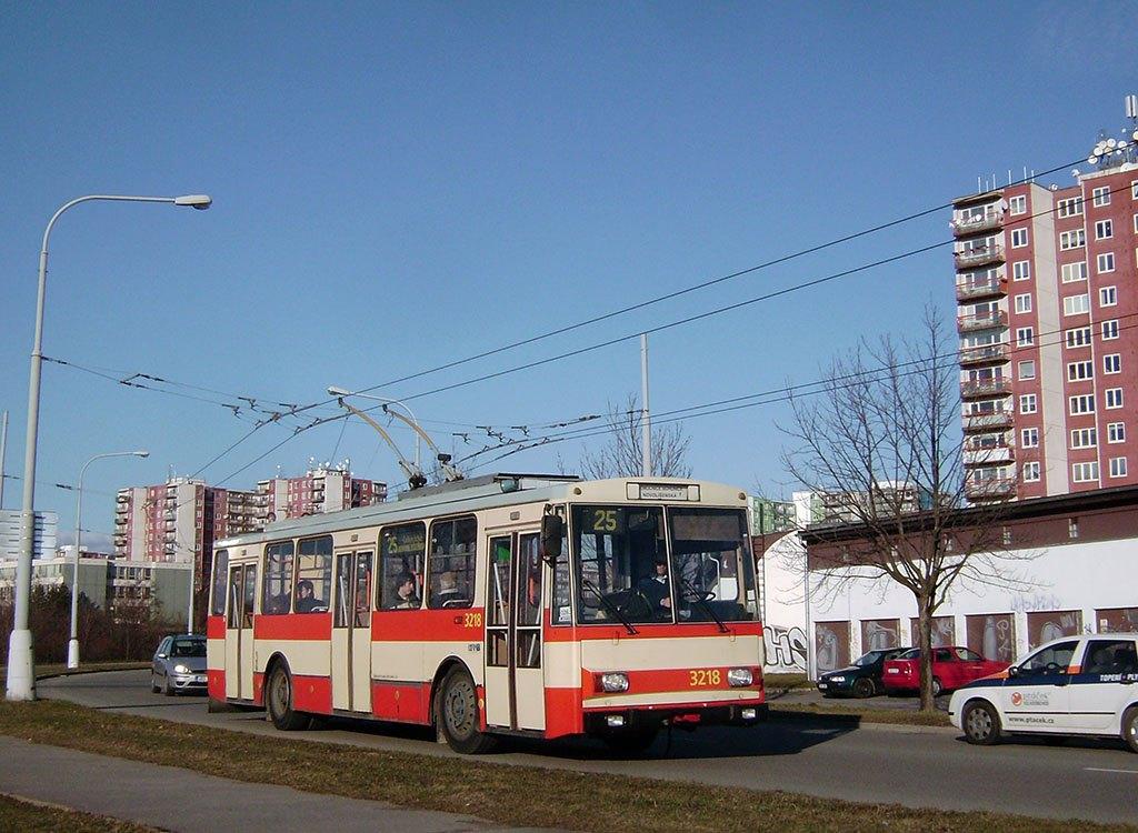 Fotogalerie » Škoda 14Tr08/6 3218   Brno   Vinohrady   Věstonická