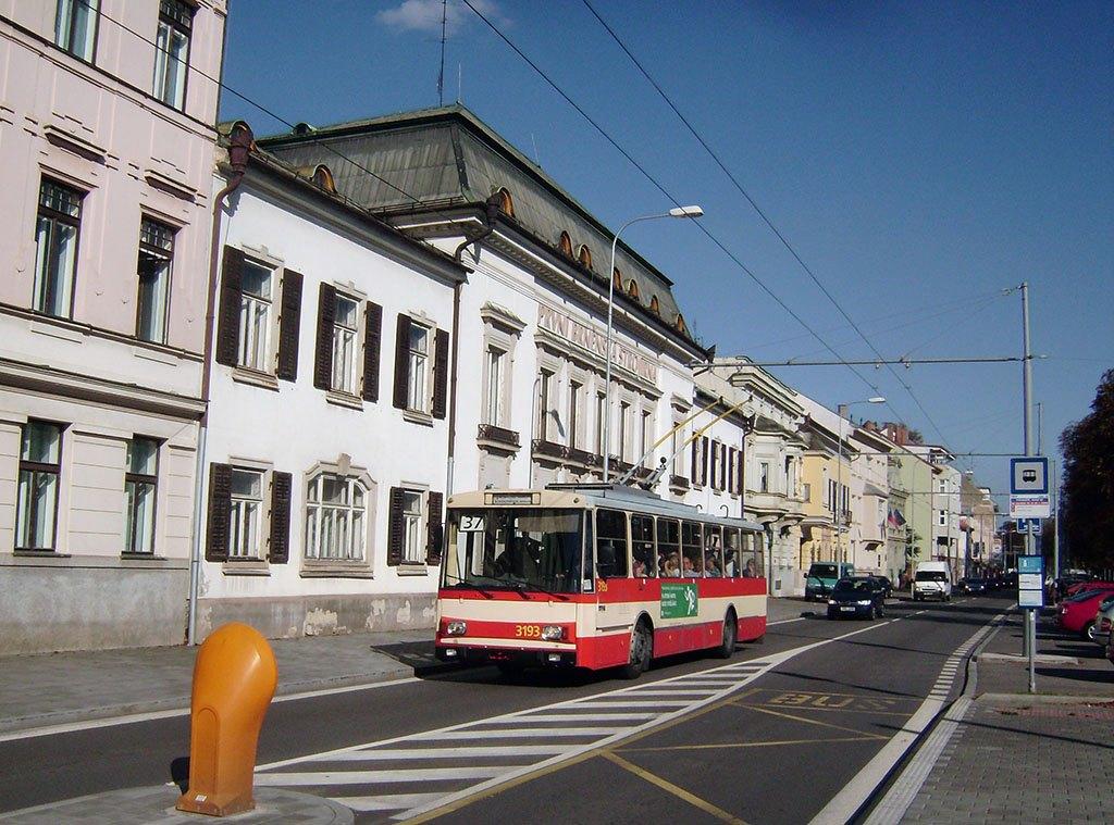 Fotogalerie » Škoda 14Tr07 3193 | Brno | Pisárky | Hlinky