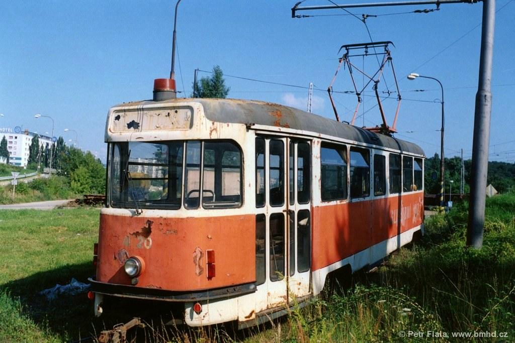 Fotogalerie » Tatra T2 služební 4120 | Brno | Královo Pole | Vlečka DP v Králově Poli