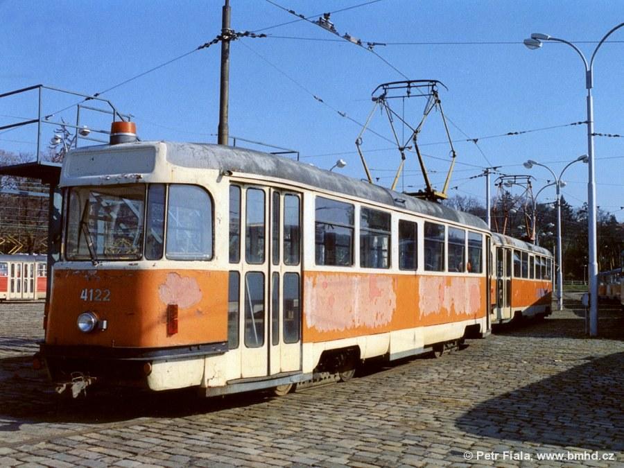 Fotogalerie » Tatra T2 služební 4122 | Brno | vozovna Pisárky