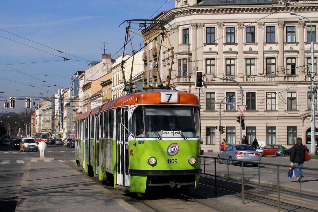 Fotogalerie » ČKD Tatra K2 1109 | Brno | střed | Moravské náměstí | Moravské náměstí