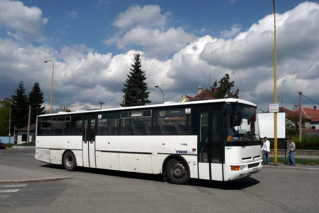 Fotogalerie » Karosa C954.1360 2B0 7549 | Vyškov | Vyškov, aut. st.
