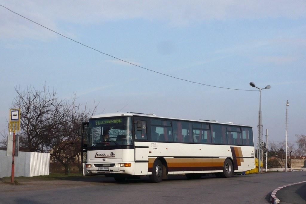 Fotogalerie » Karosa C954E.1360 2B3 7315 | Modřice | Modřice, Brněnská