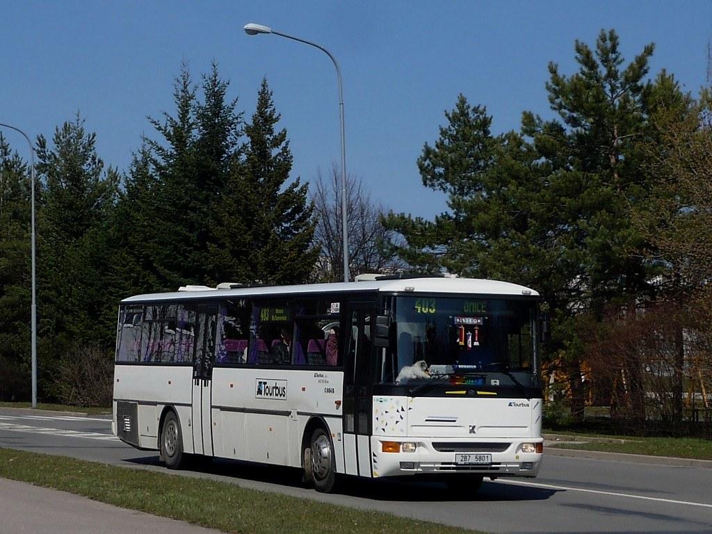 Fotogalerie » Karosa C954E.1360 2B7 5801 | Brno | Starý Lískovec | Osová