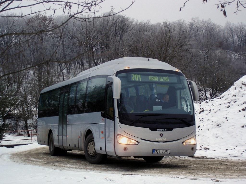 Fotogalerie » Scania Irizar Scania Irizar i4 3B6 7888 | Mokrá-Horákov | Mokrá-Horákov, lom, smyčka