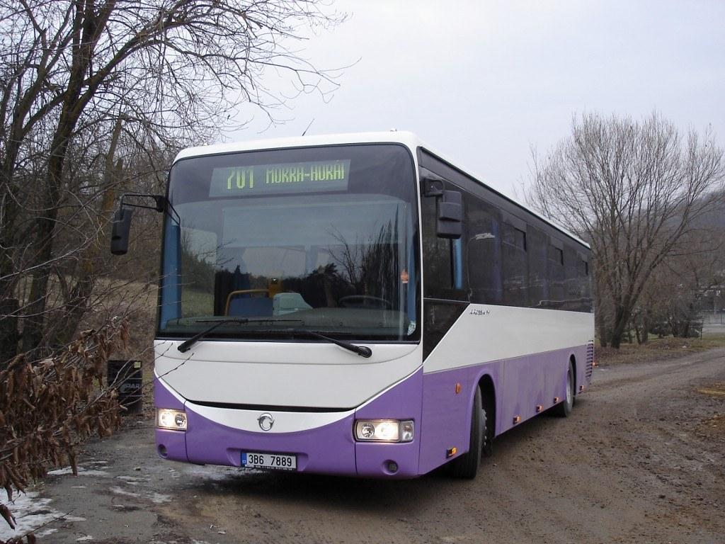 Fotogalerie » Irisbus Crossway 12M 3B6 7889 | Mokrá-Horákov | Mokrá-Horákov, lom