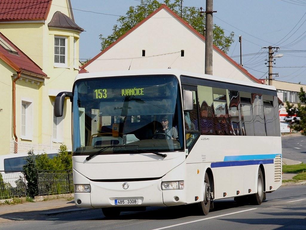 Fotogalerie » Irisbus Crossway 12M 4B5 3308 | Rosice | Trávníky