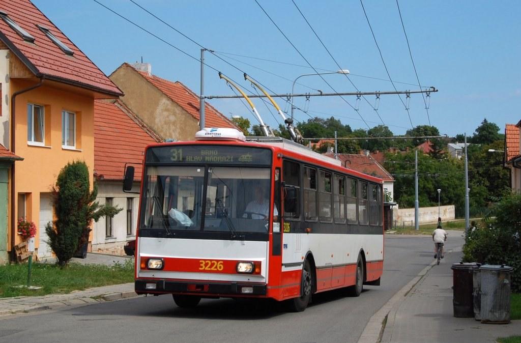 Fotogalerie » Škoda 14TrR 3226 | Šlapanice | Kalvodova