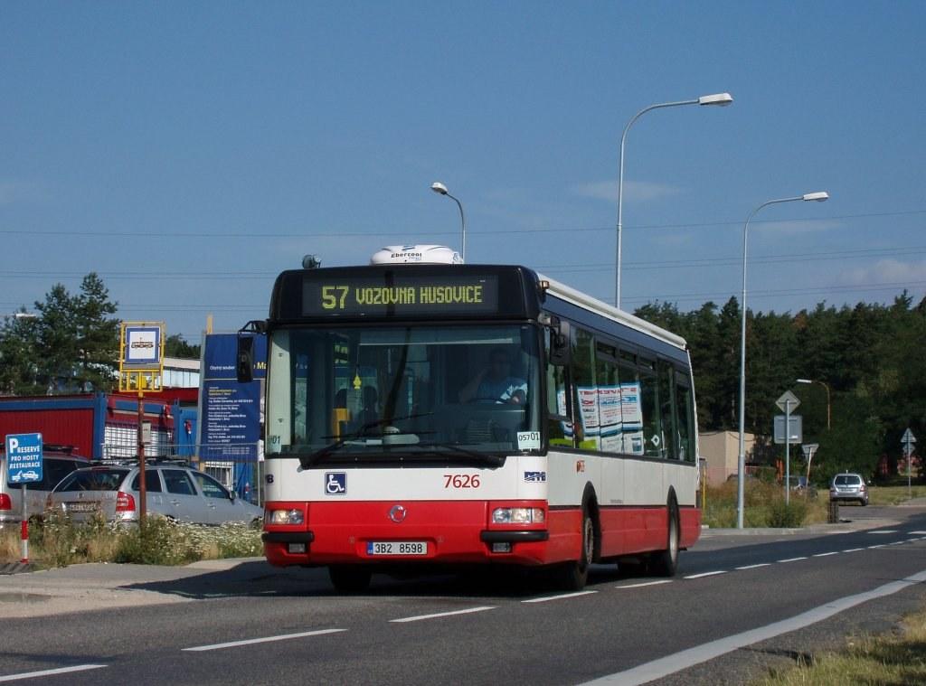 Fotogalerie » Irisbus Citybus 12M 2071.40 7626 | Brno | Lesná | Dusíkova | Kupkova