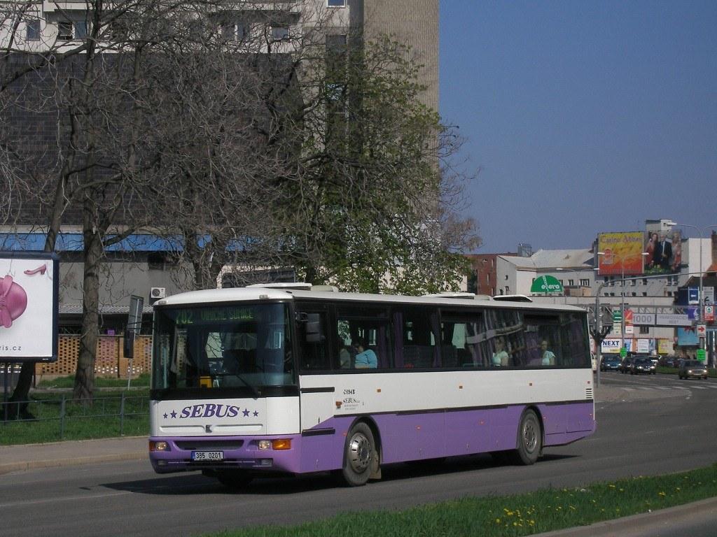 Fotogalerie » Karosa C954E.1360 3B5 0201   Brno   Trnitá   Úzká