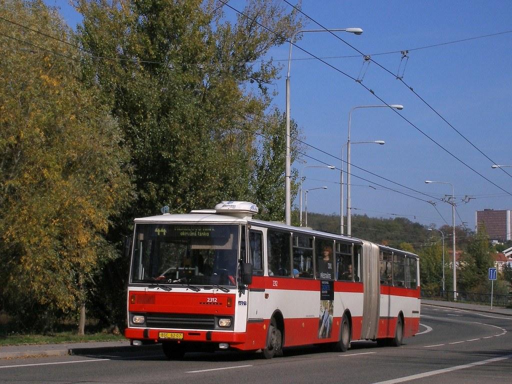 Fotogalerie » Karosa B741.1924 2312 | Brno | Komín | Veslařská