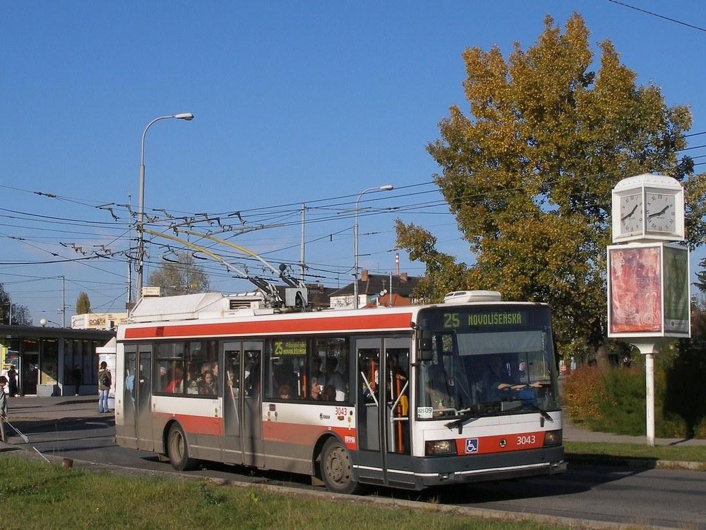 Fotogalerie » Škoda 21TrIGCT 3043 | Brno | Židenice | Stará Osada