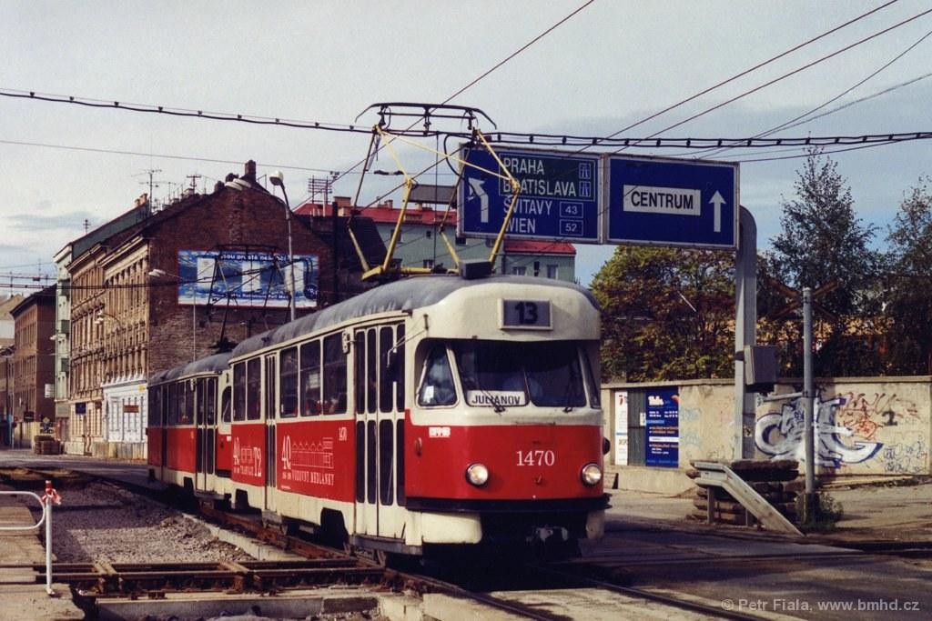 Fotogalerie » Tatra T2R 1470 | Tatra T2R 1462 | Brno | střed | Křenová