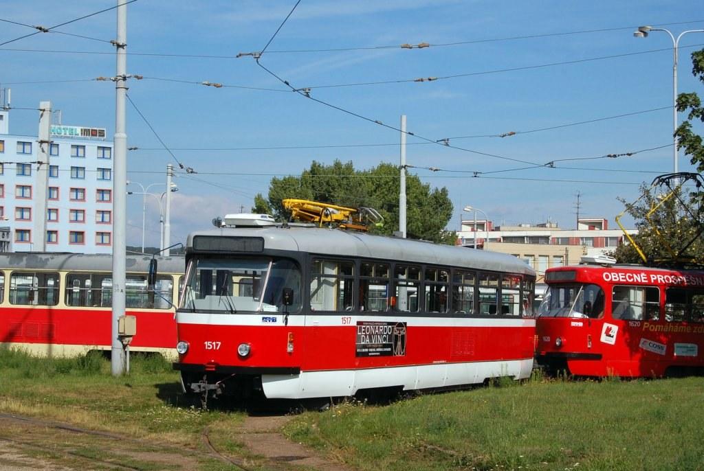 Fotogalerie » Pragoimex T3R.PV 1517 | Brno | vozovna Medlánky