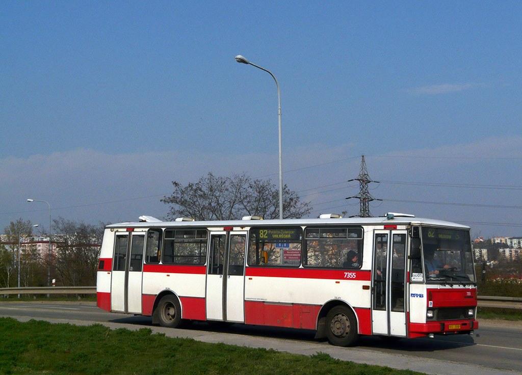 Fotogalerie » Karosa B732 pro invalidy 7355 | Brno | Líšeň | Křtinská