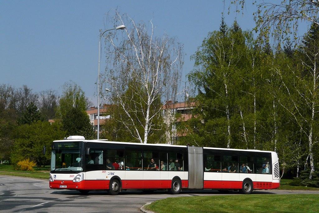 Fotogalerie » Irisbus Citelis 18M 2601   Brno   Lesná   Okružní