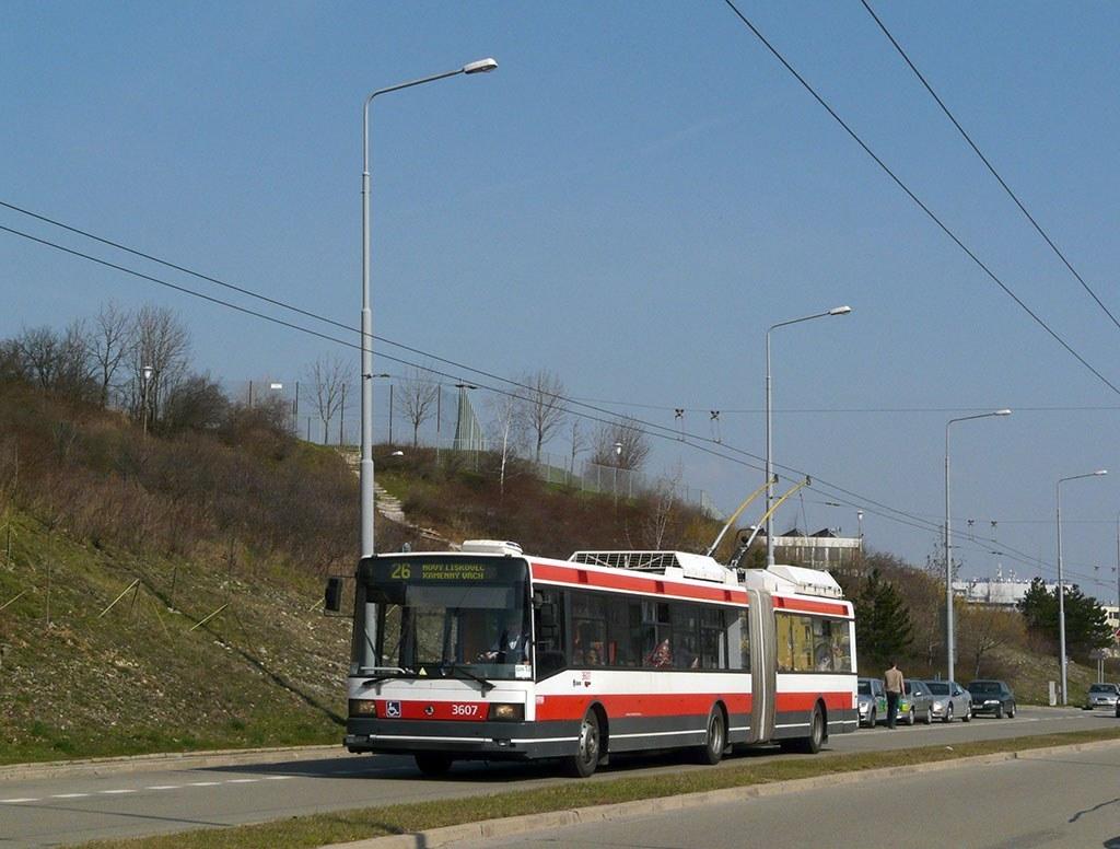 Fotogalerie » Škoda 22Tr 3607   Brno   Nový Lískovec   Petra Křivky