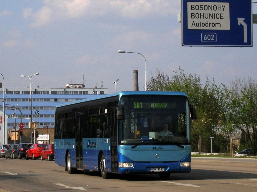 Fotogalerie » Irisbus Crossway LE 12M 6B0 3015   Brno   Štýřice   Vídeňská