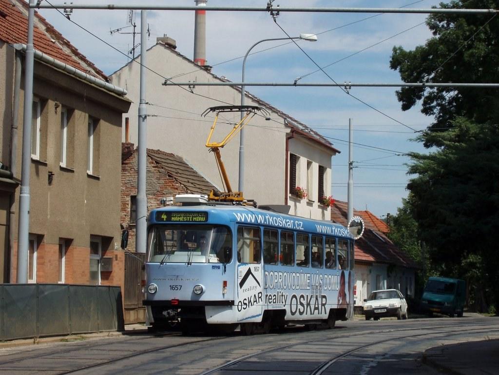Fotogalerie » Pragoimex T3R.PV 1657 | Brno | Husovice | Valchařská