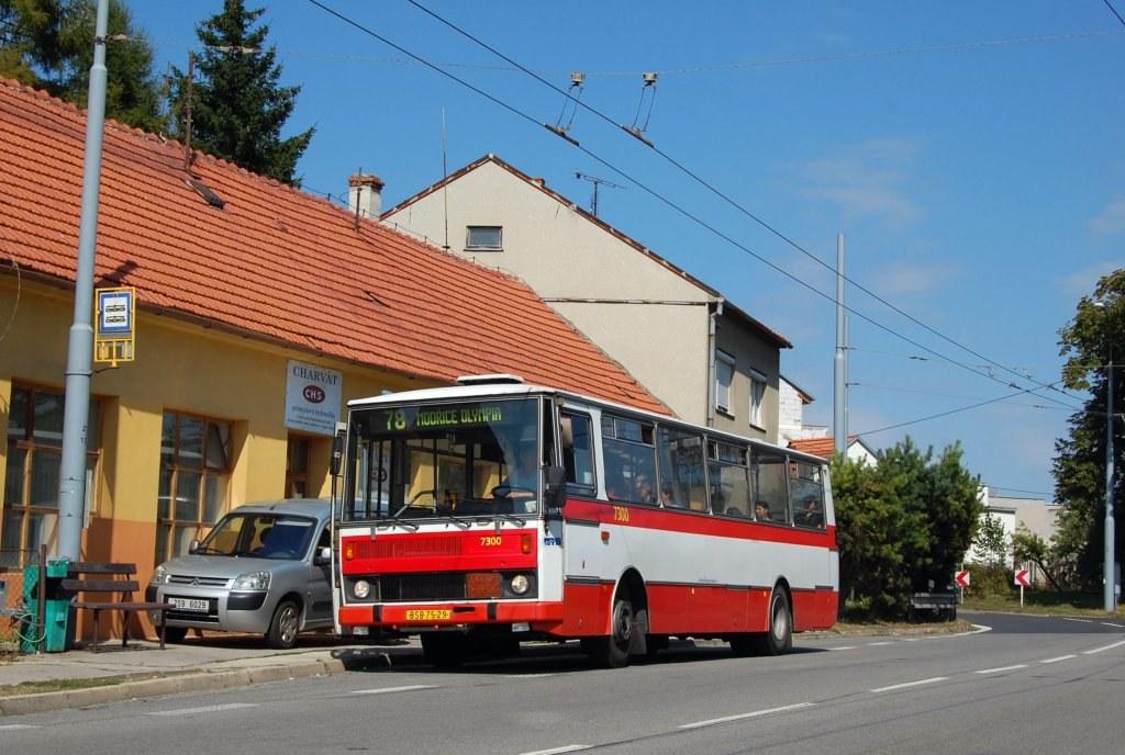 Fotogalerie » Karosa B732.1652 7300 | Brno | Slatina | Matlachova | Krejčího