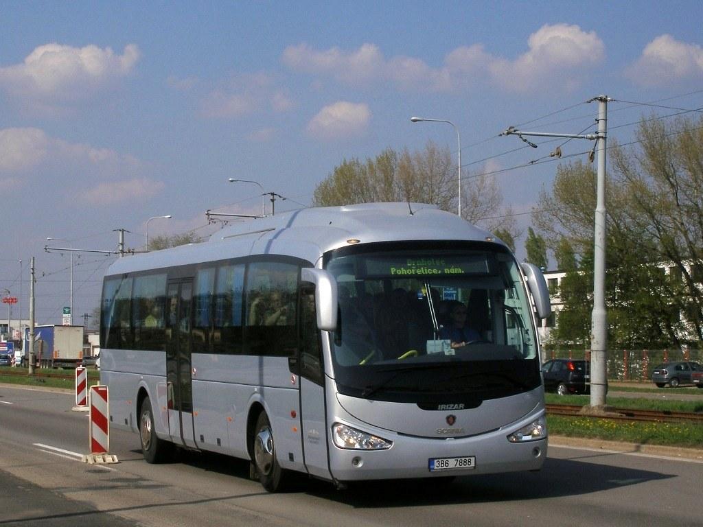 Fotogalerie » Scania Irizar Scania Irizar i4 3B6 7888   Brno   Dolní Heršpice   Vídeňská