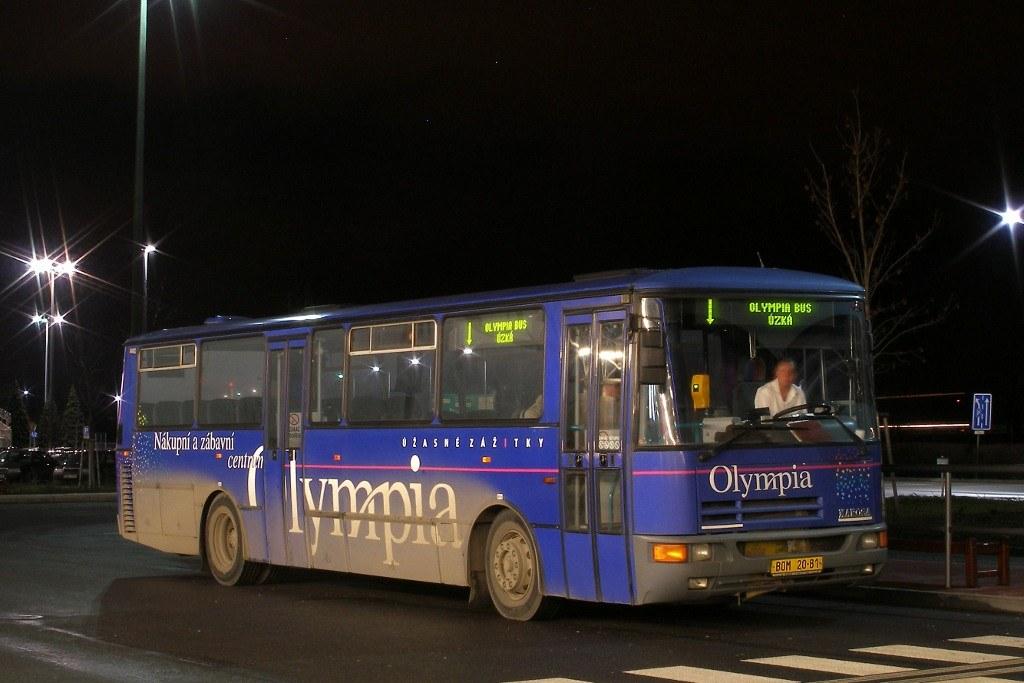 Fotogalerie » Karosa C934E.1351 BOM 20-81 | Modřice | Modřice, Olympia