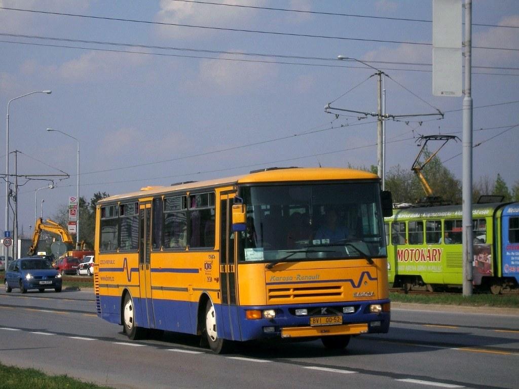 Fotogalerie » Karosa C935E BVI 00-52 | Brno | Dolní Heršpice | Vídeňská