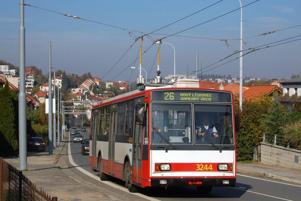 Fotogalerie » Škoda 14TrR 3244 | Brno | Nový Lískovec | Rybnická