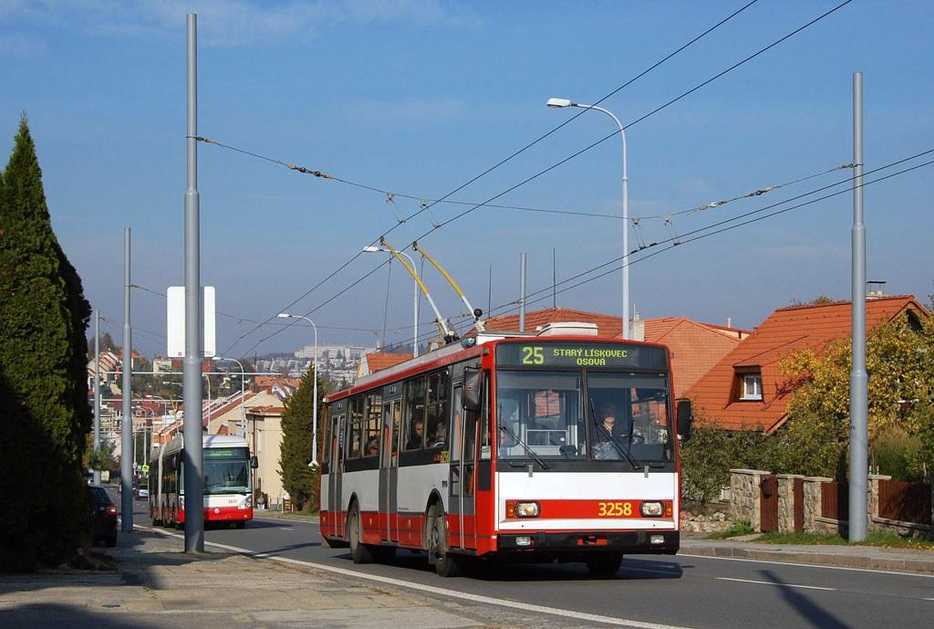 Fotogalerie » Škoda 14TrR 3258 | Brno | Nový Lískovec | Rybnická