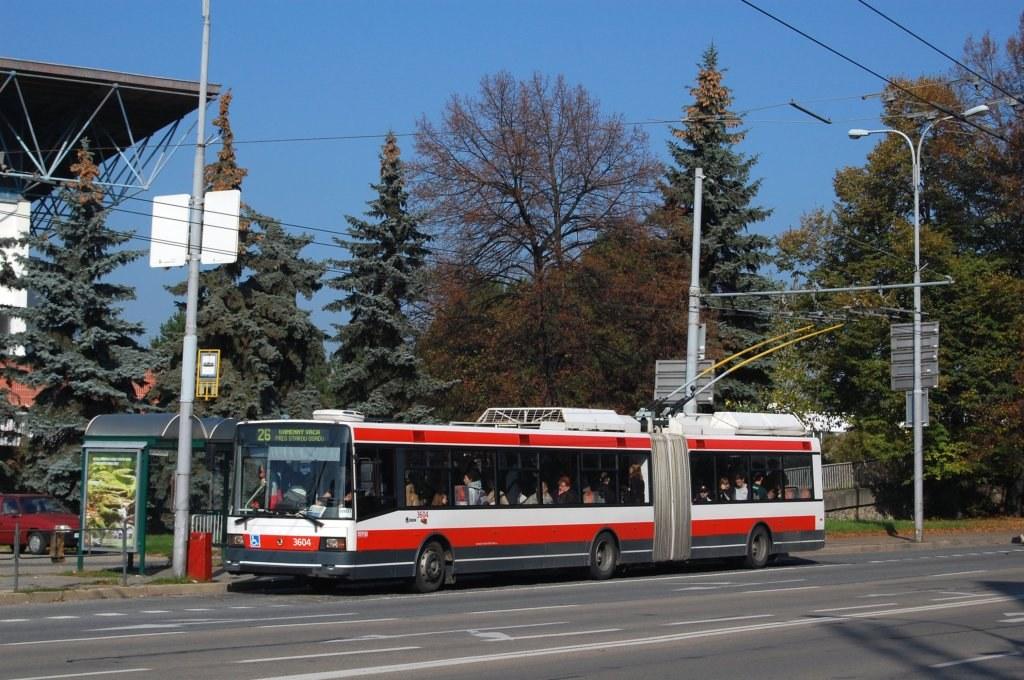 Fotogalerie » Škoda 22Tr 3604 | Brno | střed | Drobného | Zimní Stadion