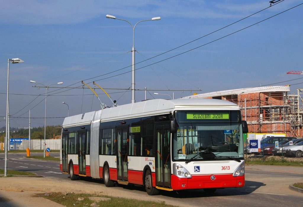 Fotogalerie » Škoda 25Tr Citelis 1B 3613   Brno   Bohunice   Netroufalky