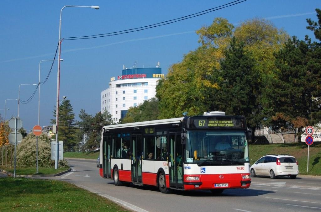 Fotogalerie » Irisbus Citybus 12M 2071.40 7630 | Brno | střed | Sportovní