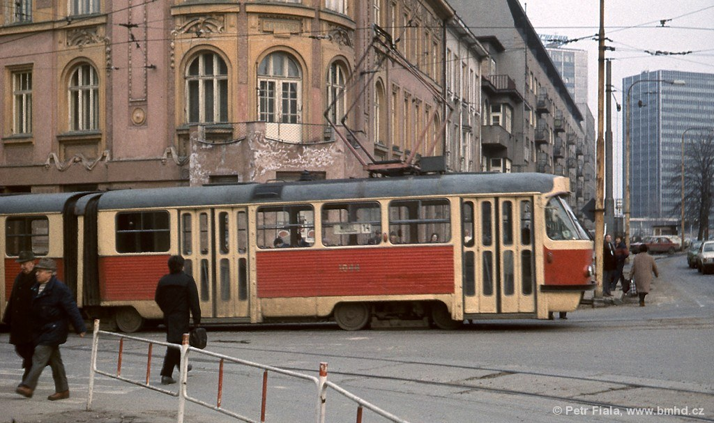 Fotogalerie » ČKD Tatra K2 1044 | Brno | Žabovřesky | Tábor | Tábor
