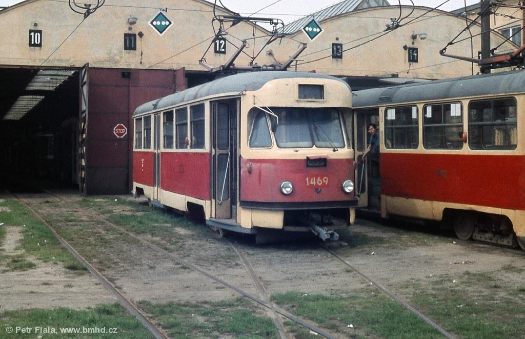 Fotogalerie » Tatra T2R 1469 | Brno | vozovna Medlánky