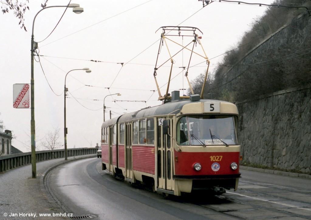 Fotogalerie » ČKD Tatra K2MM 1027 | Brno | střed | Husova
