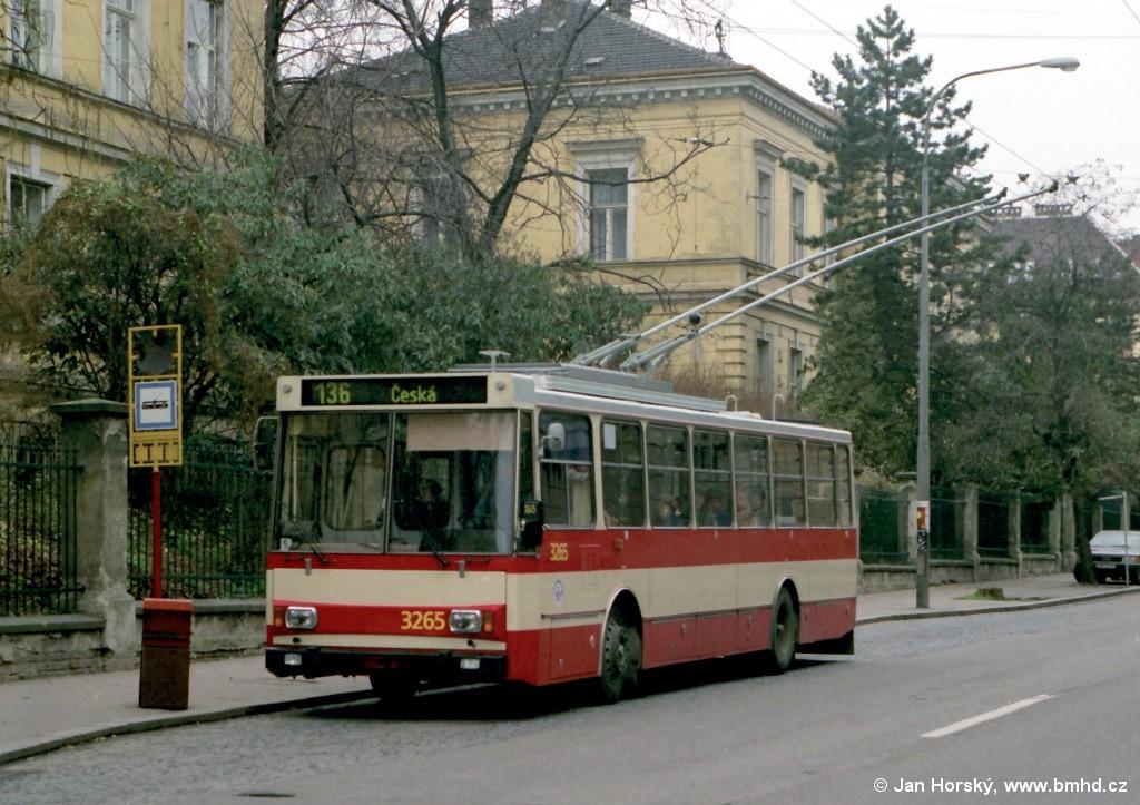 Fotogalerie » Škoda 14Tr14 3265   Brno   střed   Kounicova   Sušilova