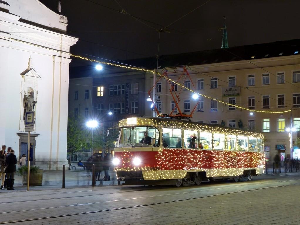 Fotogalerie » ČKD Tatra T3 1525 | Brno | střed | Rašínova | Česká
