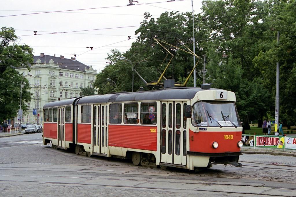 Fotogalerie » ČKD Tatra K2 1040 | Brno | střed | Moravské náměstí