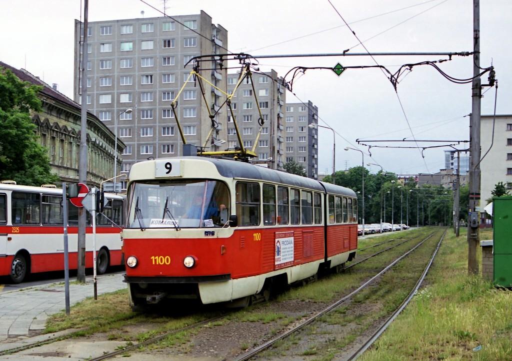 Fotogalerie » ČKD Tatra K2 1100 | Brno | Staré Brno | Veletržní