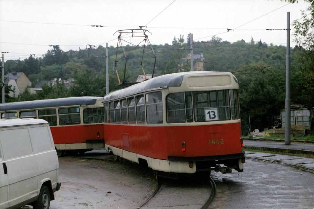 Fotogalerie » Tatra T2R 1476 | Tatra T2R 1462 | Brno | Juliánov | Líšeňská | Juliánov, smyčka