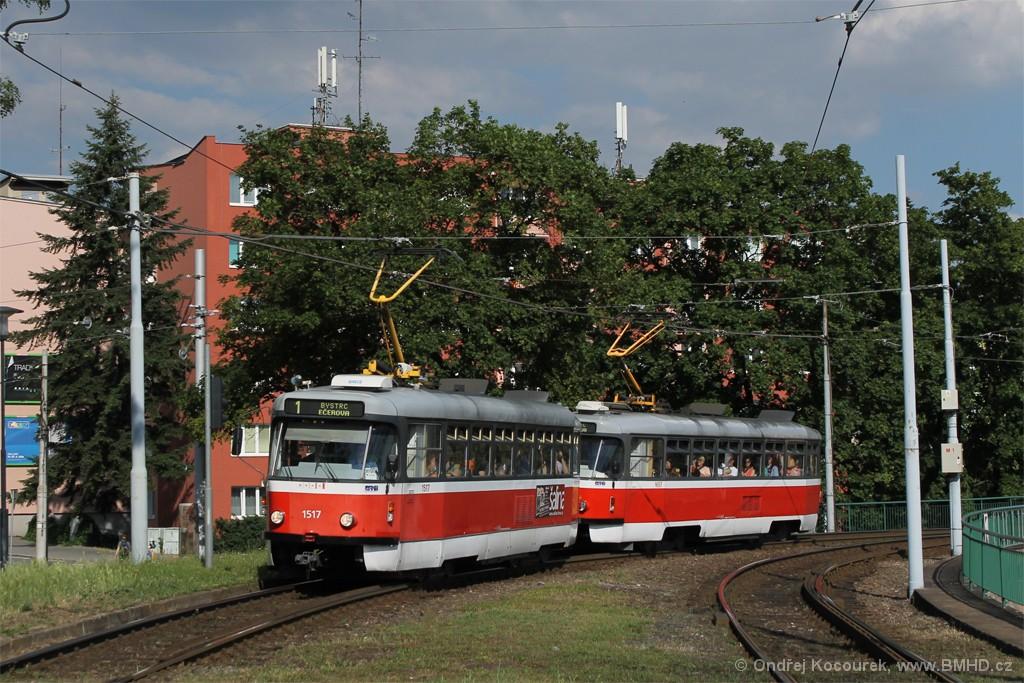 Fotogalerie » Pragoimex T3R.PV 1517 | Pragoimex T3R.PV 1657 | Brno | Pisárky | Hlinky