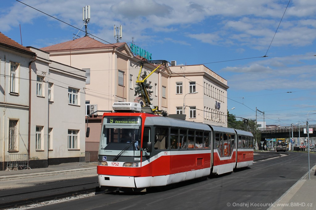Fotogalerie » Pars Nova K3R-N 1752 | Brno | Černovice | Olomoucká