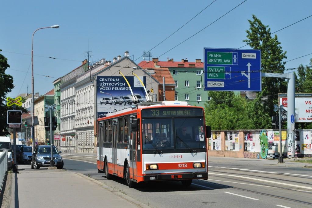 Fotogalerie » Škoda 14Tr08/6 3218 | Brno | Trnitá | Křenová