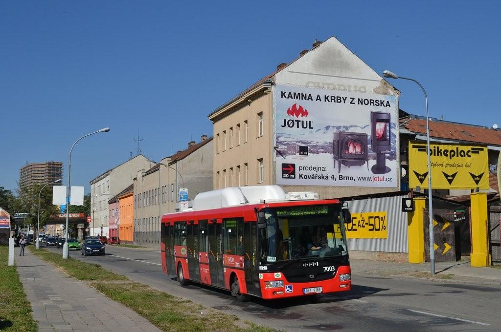 Fotogalerie » SOR NBG 12 9B7 9166 7003 | Brno | Trnitá | Plotní