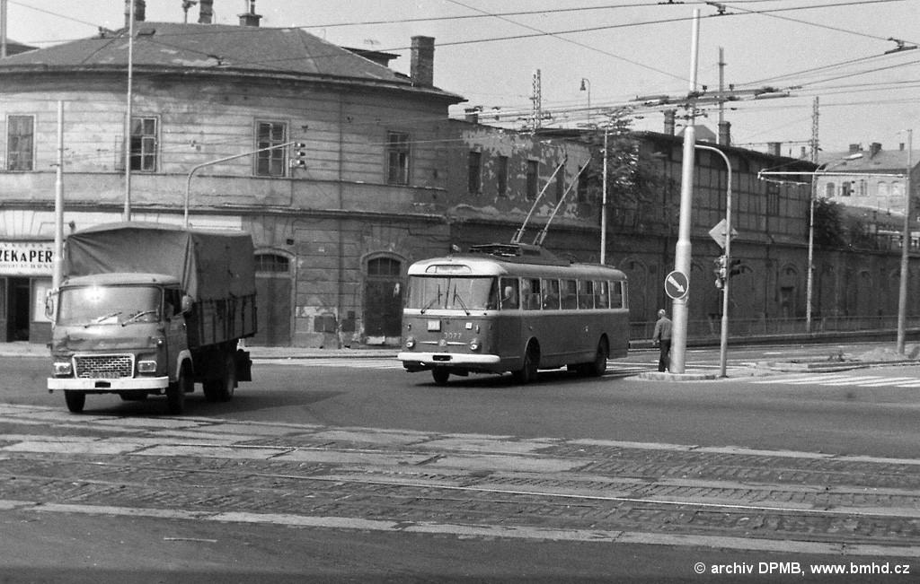 Fotogalerie » Škoda 9Tr17 3077 | Brno | střed | Koliště
