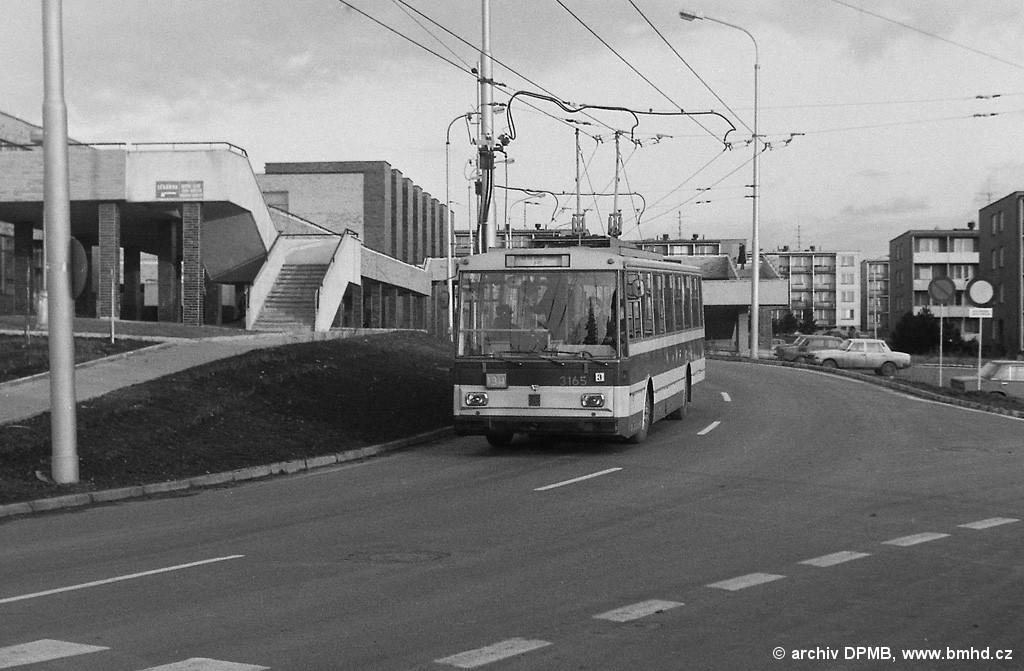 Fotogalerie » Škoda 14Tr0 3165 | Brno | Žabovřesky | Přívrat