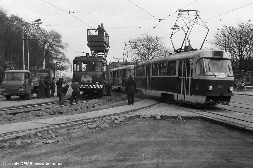 Fotogalerie » ČKD Tatra T3SUCS 1610 | Brno | střed | Nové sady